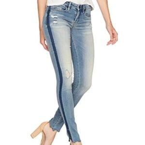 Blank NYC 30 Skinny Classique Distressed Jeans